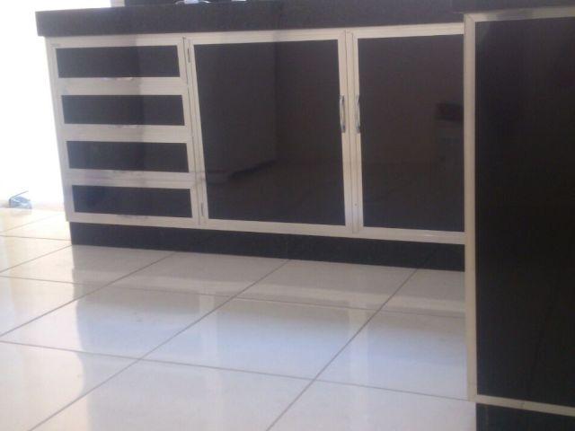 Armarios De Cozinha De Vidro : Wibamp armario de pia cozinha vidro temperado
